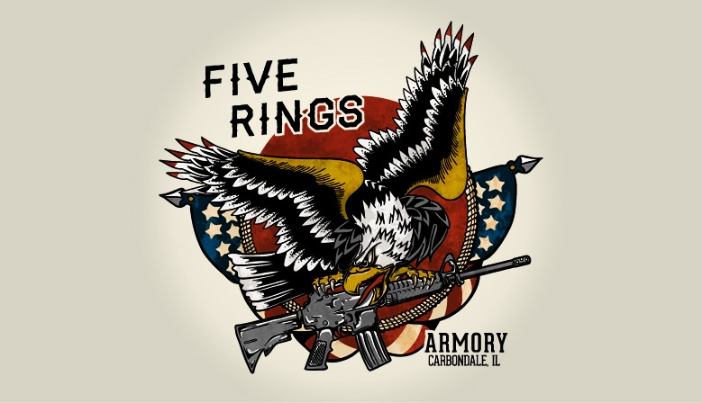 Five Rings Armory, Carbondale, IL.