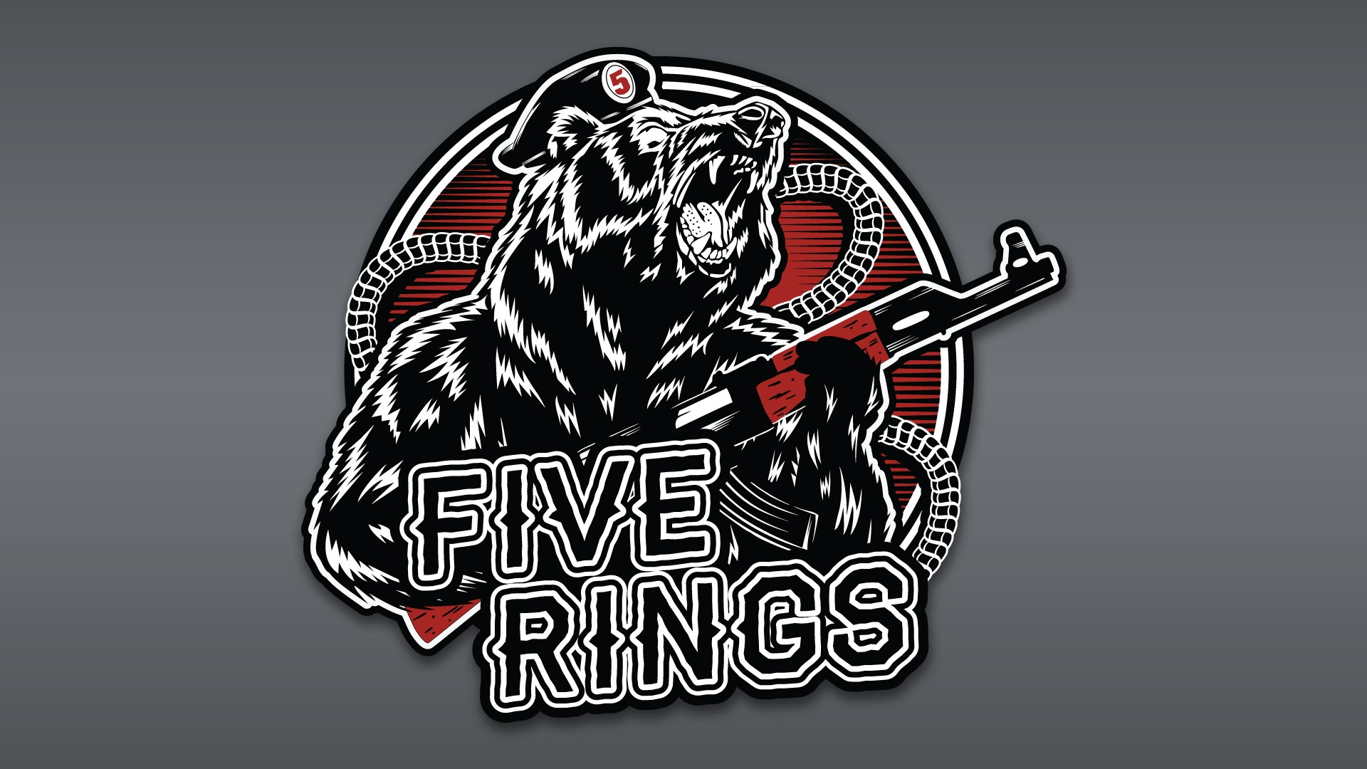 Russian Bear Five Rings Armory